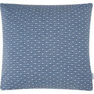 calvin klein home sierkussen »shibori dot«, calvin klein home blauw