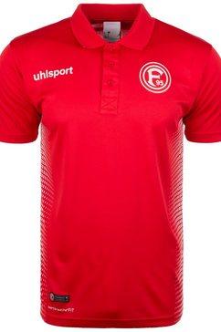 uhlsport poloshirt »fortuna duesseldorf score« rood