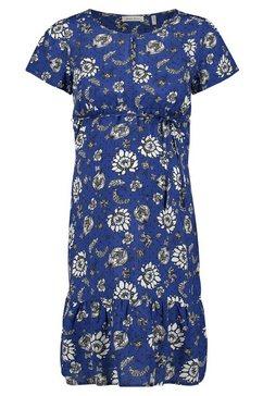 queen mum jurk met voedingsfunctie »beiging« blauw