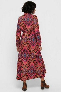 only gedessineerde jurk »onlbetty« rood