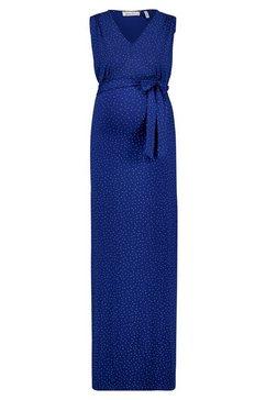 queen mum maxi-voedingsjurk »jakarta« blauw
