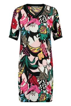 loomlace blousejurkje met multicolourprint »bandita« roze