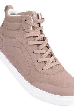 dare2b sneakers »damen cylo wildleder- im high-top-stil« roze