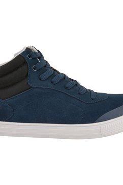 dare2b sneakers »damen cylo wildleder- im high-top-stil« blauw