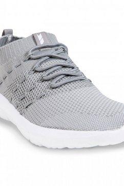 trespass sneakers »damen massie sneaker mit netzstrick-optik« grijs