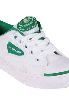 dunlop sneakers »green flasch du1555 herren turnschuhe, abriebfeste sohle« wit