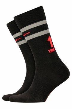 burlington sokken zwart