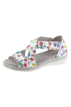 aco sandaaltjes met elastiek wit