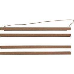 fotolijstje »click frame wood 51cm click wood frame - 51cm« bruin