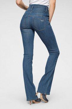 arizona bootcut jeans »mit extrabreitem bund« blauw