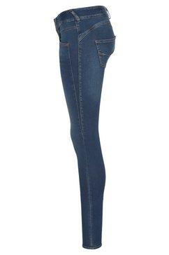 herrlicher slim fit jeans »gila slim« blauw