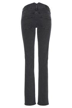 herrlicher rechte jeans »pearl« zwart