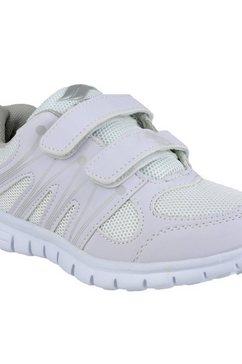 mirak klittenbandschoenen »milos kinder jungen turnschuhe - sneakers mit klettverschluss« wit