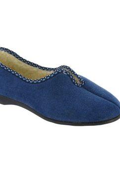 gbs pantoffels »klassische helsinki damen-frauen e« blauw