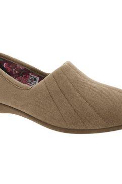 gbs pantoffels »audrey damen e« beige