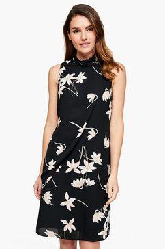 s.oliver black label high neck-jurk zwart
