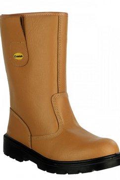 centek laarzen »unisex sicherheitsstiefel fs334« bruin
