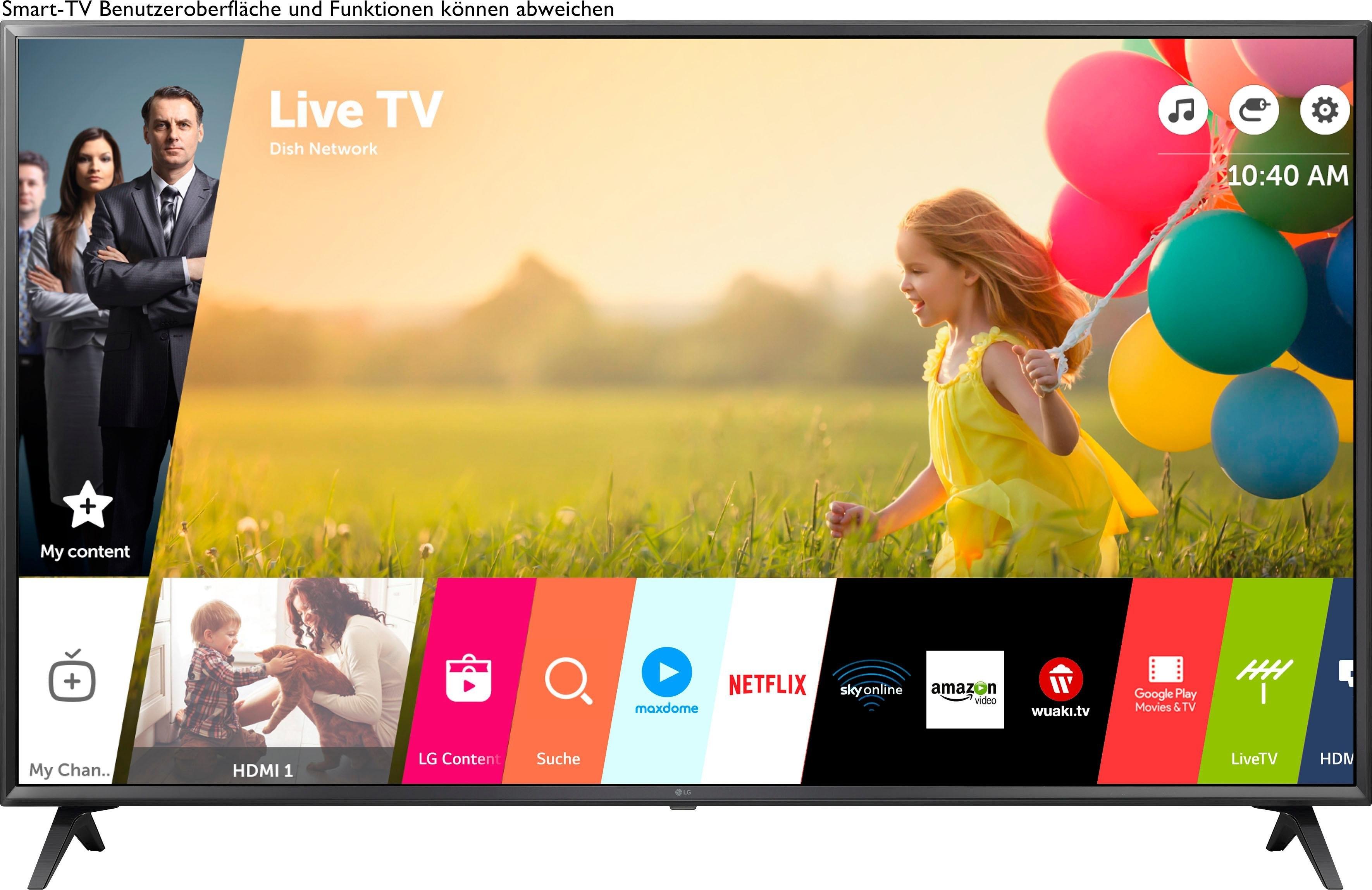 LG 49UN71006LB LED-televisie (123 cm / (49 Inch), 4K Ultra HD, Smart-TV - verschillende betaalmethodes