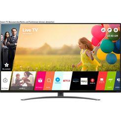 lg 65nano867na led-televisie (164 cm - (65 inch), smart-tv zwart