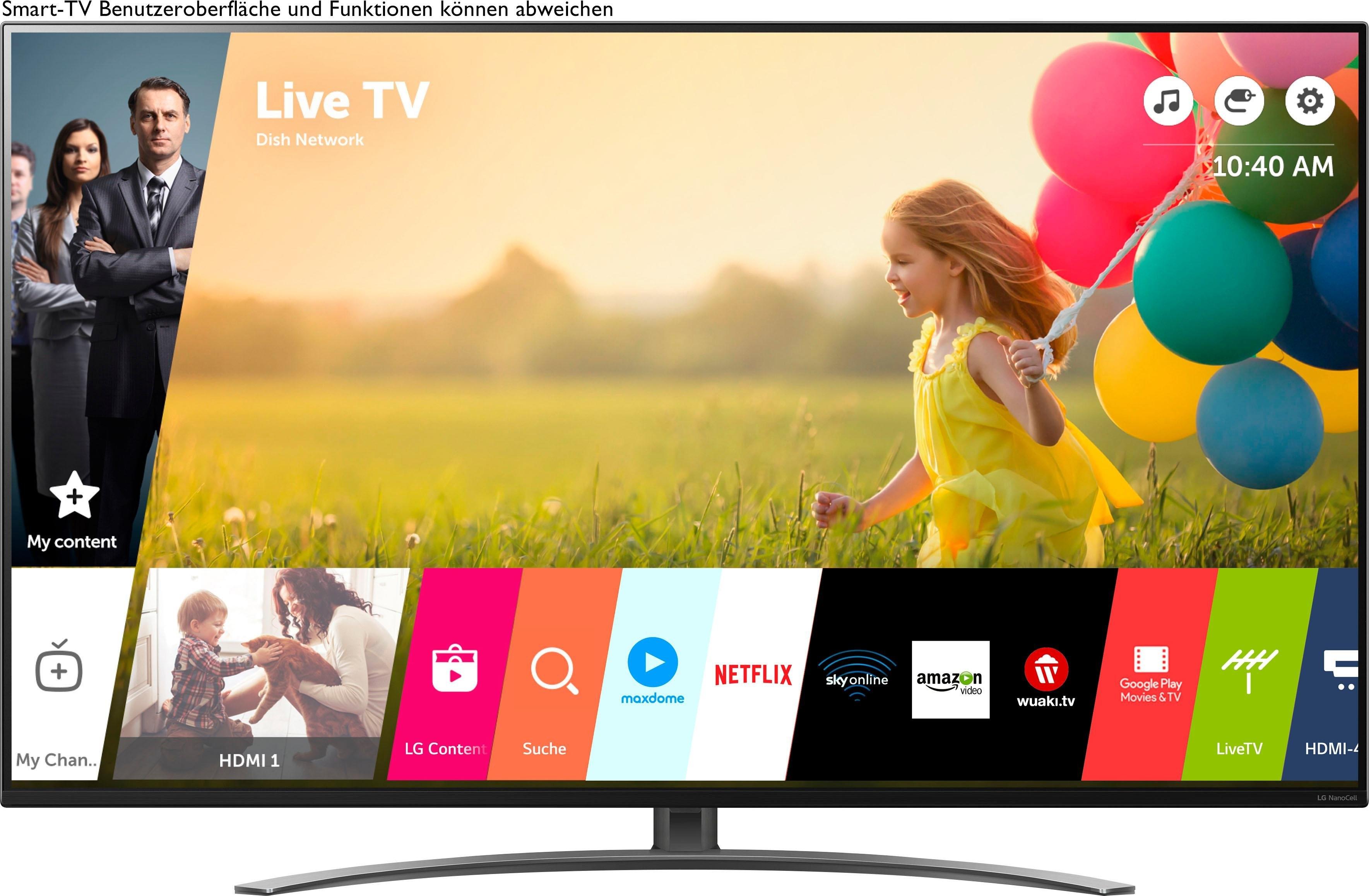LG 65NANO867NA LED-televisie (164 cm / (65 Inch), Smart-TV bestellen: 30 dagen bedenktijd