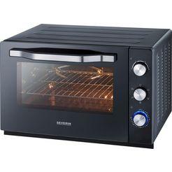 severin »xxl back-und toastofen to 2066« multifunctionele oven zwart