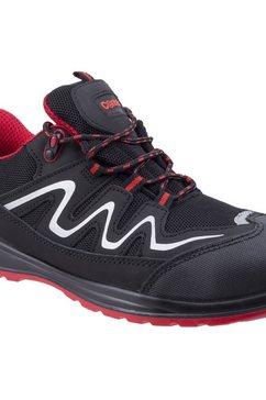 centek sneakers »herren leder-sicherheitsturnschuhe fs312« zwart