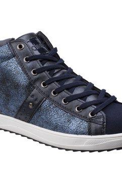 divaz sneakers »diva damen steffy metallic s« blauw