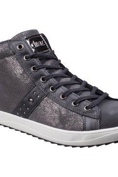 divaz sneakers »diva damen steffy metallic s« grijs