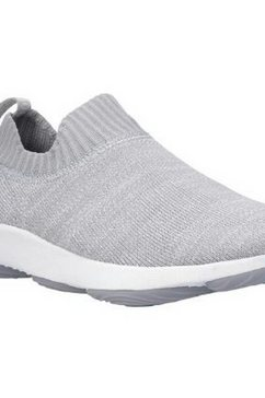 hush puppies slip-on sneakers »damen free bouncemax slip-on-sneaker« grijs