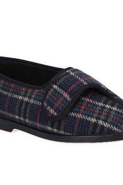 gbs pantoffels »bill herren e - slippers mit klettverschluss« multicolor