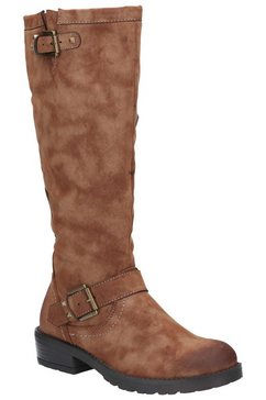 1098497550 bikerboots »damen courtney zip up stiefel« bruin