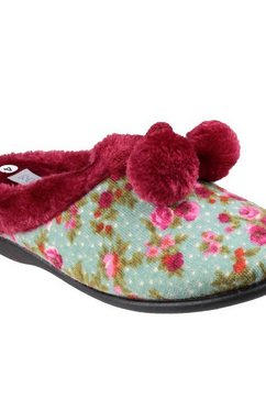 mirak pantoffels »damen chabills pantoffel« multicolor