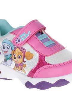leomil sneakers »paw patrol maedchen turnschuhe skye und everest, mit aufleuchtender sohle« roze