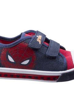 leomil sneakers »jungen spiderman- mit klettverschluss« blauw