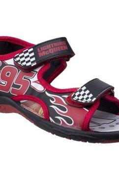 leomil sandalen »jungen cars lightning mcqueen klettverschluss n« rood