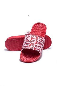 hype badslippers »unisex erwachsene badesandale justhype« rood