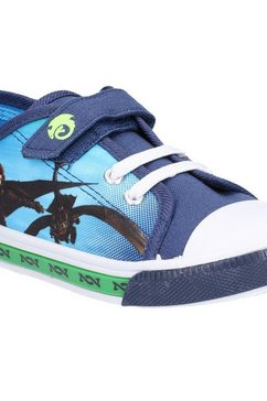 leomil sneakers »jungen how to train your dragon niederer sneaker mit klettverschluss« blauw