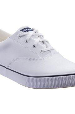 hush puppies sneakers »damen byanca sneaker zum schnueren« wit