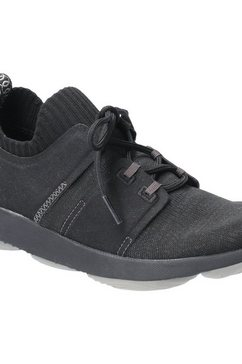 hush puppies sneakers »damen world bouncemax zum schnueren« zwart