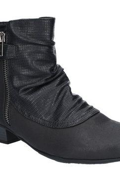 1098497546 laarsjes »damen jordie zip stiefelette« zwart