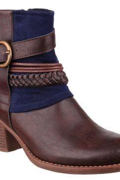 divaz enkellaarsjes »damen vado ankle-boots« blauw