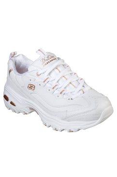 skechers sneakers »d'lites - fresh start« wit