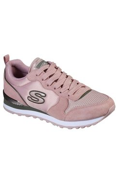skechers sneakers »nylon quarter lace up jogger« roze