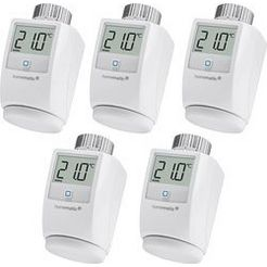 homematic ip »5er set« radiatorthermostaat wit