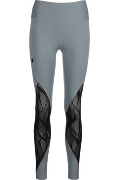 under armour functionele tights »rush vent« grijs