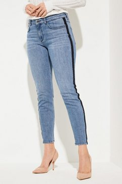 comma rick slim: donkere stretchjeans blauw