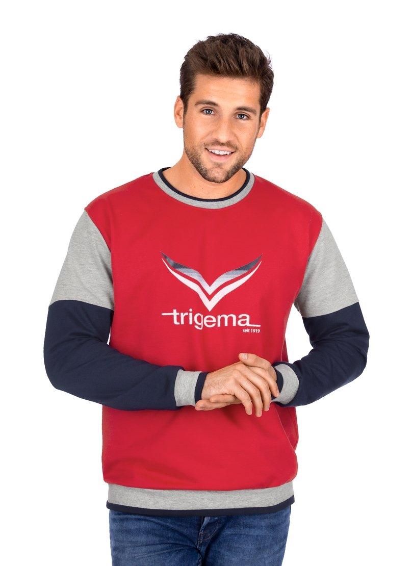 Trigema Sweatshirt met TRIGEMA-Logo online kopen op otto.nl