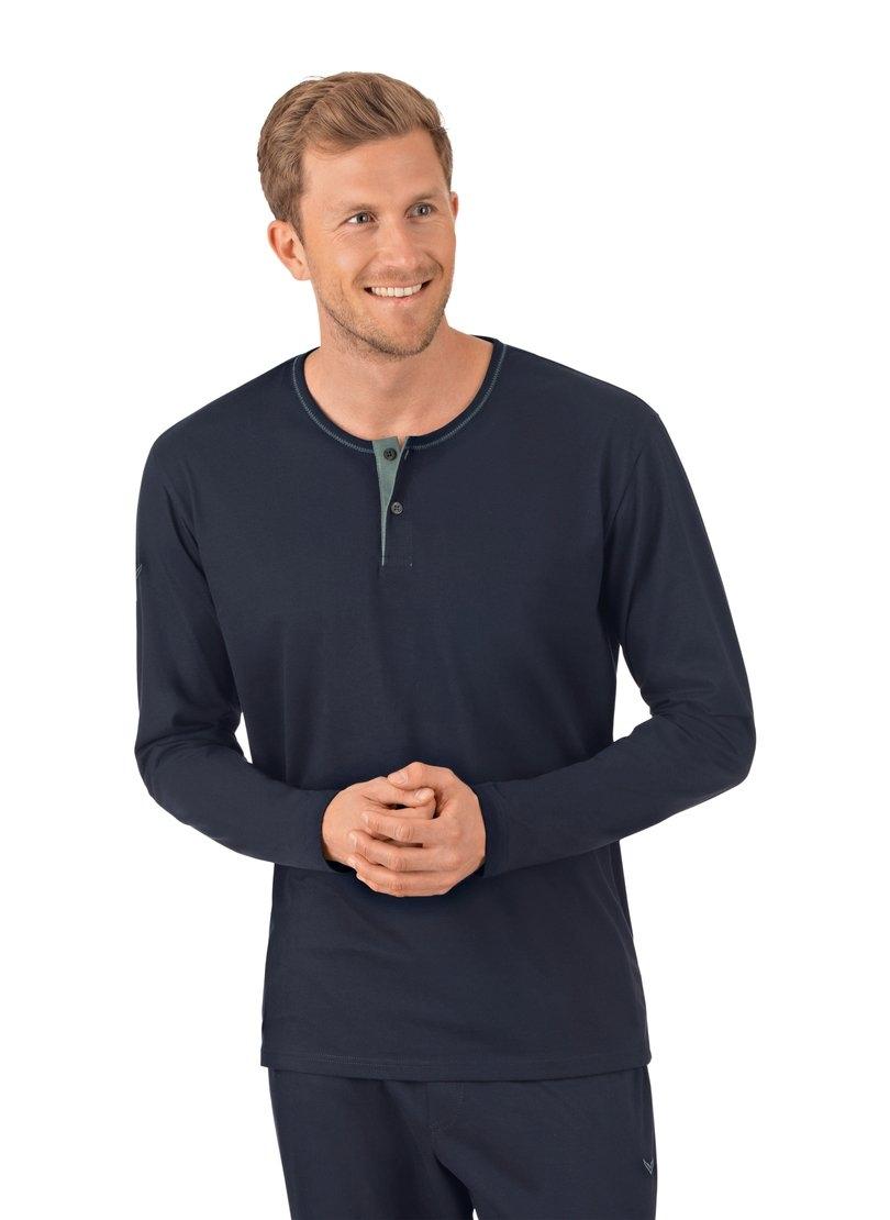 Trigema Shirt met lange mouw van biokatoen nu online kopen bij OTTO