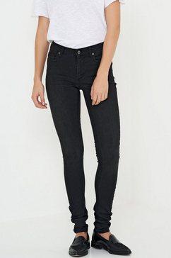 denim hunter regular slim fit jeans »celina long« zwart