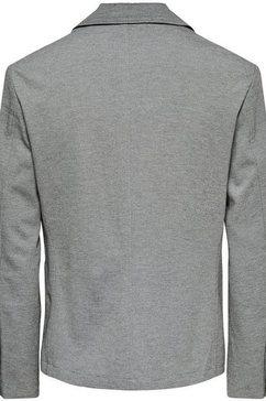 only  sons colbert bij een pak »mark blazer« grijs